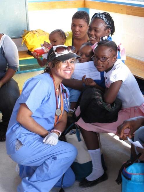 Sonia in Haiti