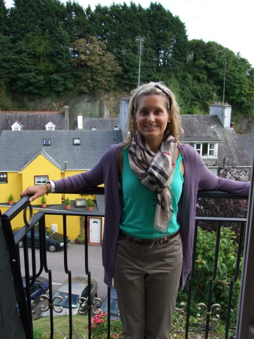 Kaitlin in Ireland