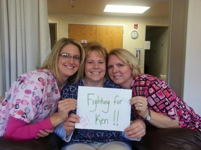 Fighting for Ken