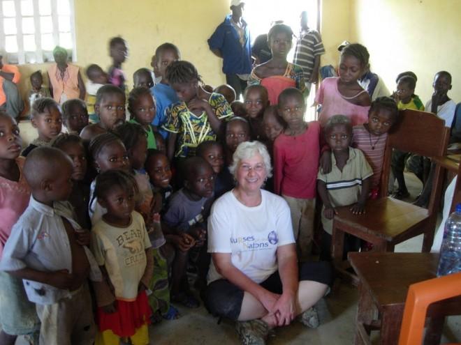 Liza in Guinea